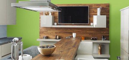 Ściany kuchni w kolorze zielonym - najlepsze inspiracje