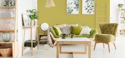 Wnętrza w naturalnych kolorach - najlepsze inspiracje