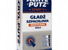 Szpachlowanie łatwiejsze z Acryl-Putz® START S