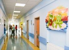 Kolorowy oddział w oświęcimskim szpitalu