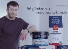 Mistrz w gładzeniu wraca! Mamed Khalidov ponownie w kampanii Śnieżka ACRYL-PUTZ®