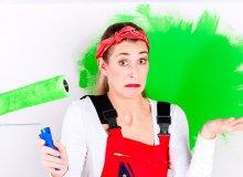 Poznaj najczęstsze problemy przy malowaniu ścian