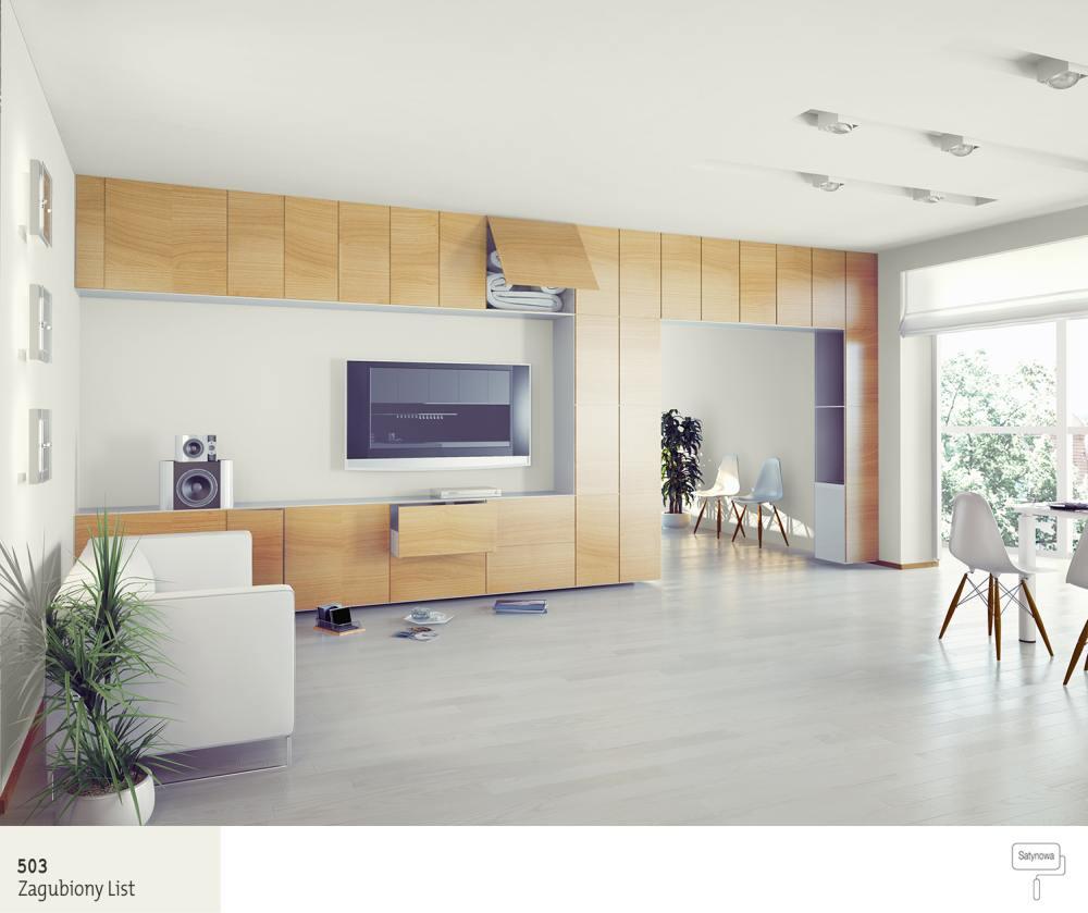 Poważnie 5 oryginalnych aranżacji ściany telewizyjnej w salonie | Farby Śnieżka XA37