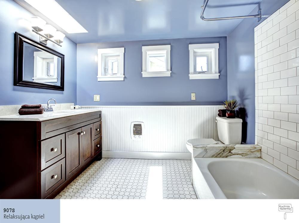 Przestronna łazienka A Kolory ścian Najlepsze Aranżacje Farby Śnieżka