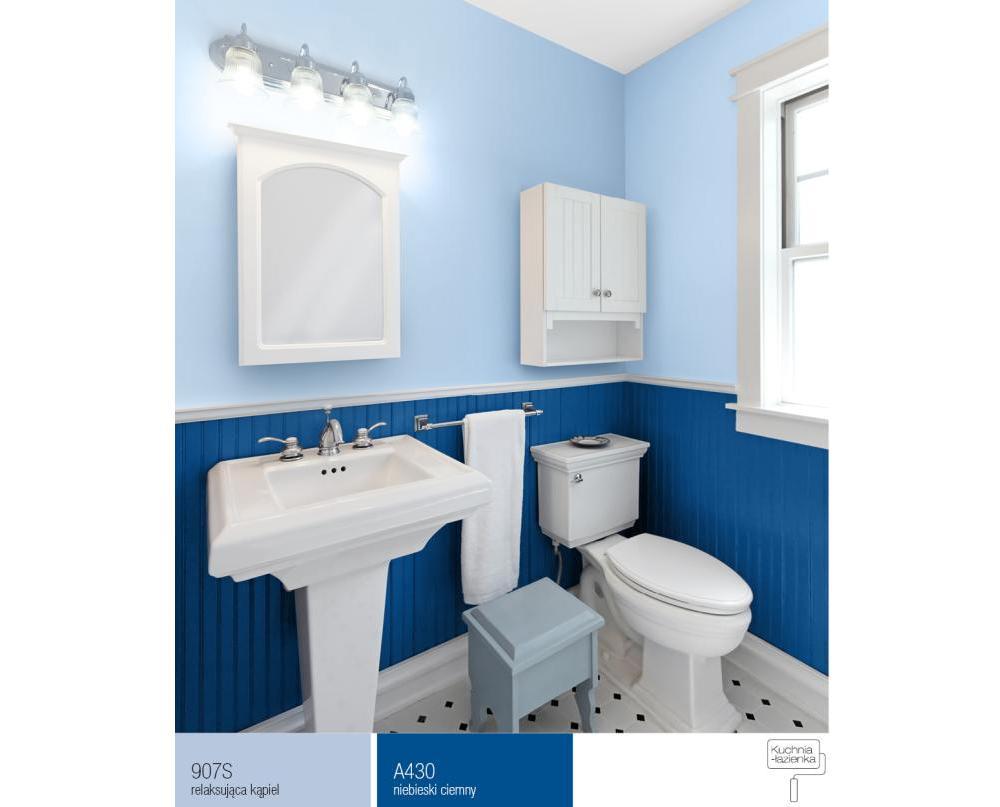 Jak Dobrać Kolory ścian W Małej łazience Farby śnieżka