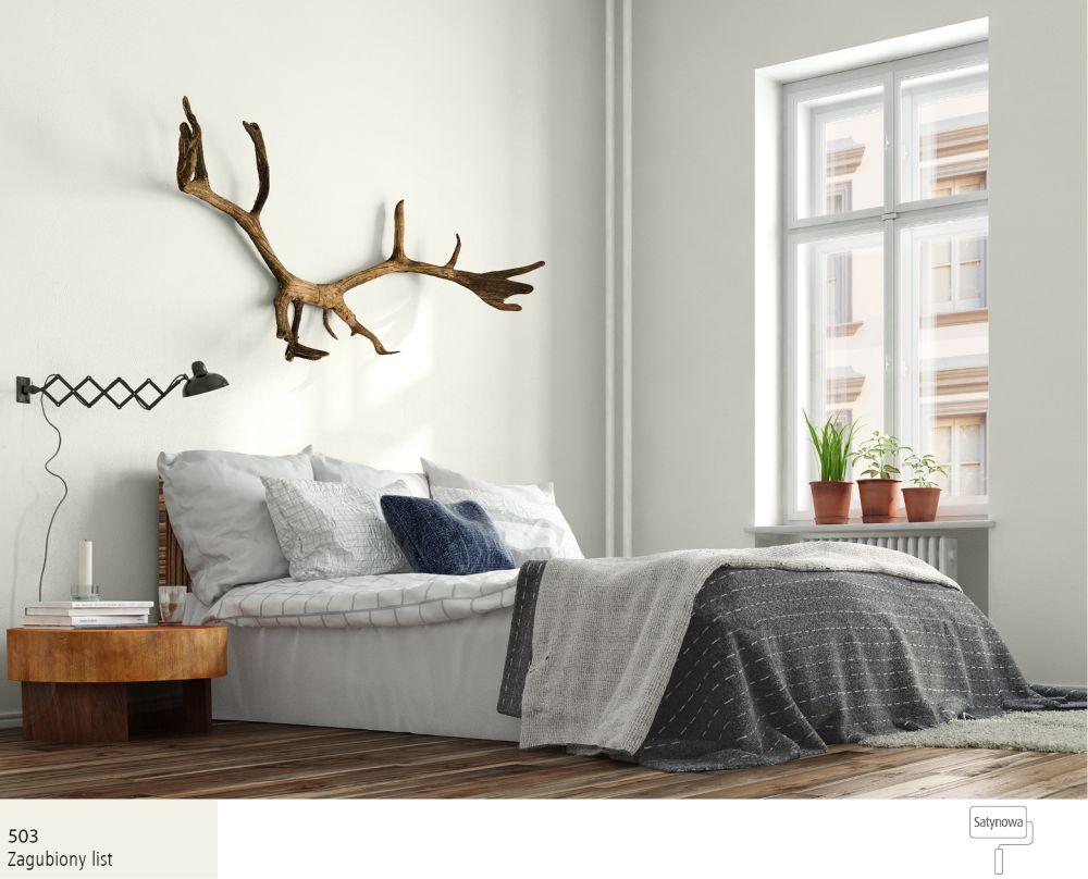 Arktyczna Biel W Sypialni Najlepsze Inspiracje Farby śnieżka