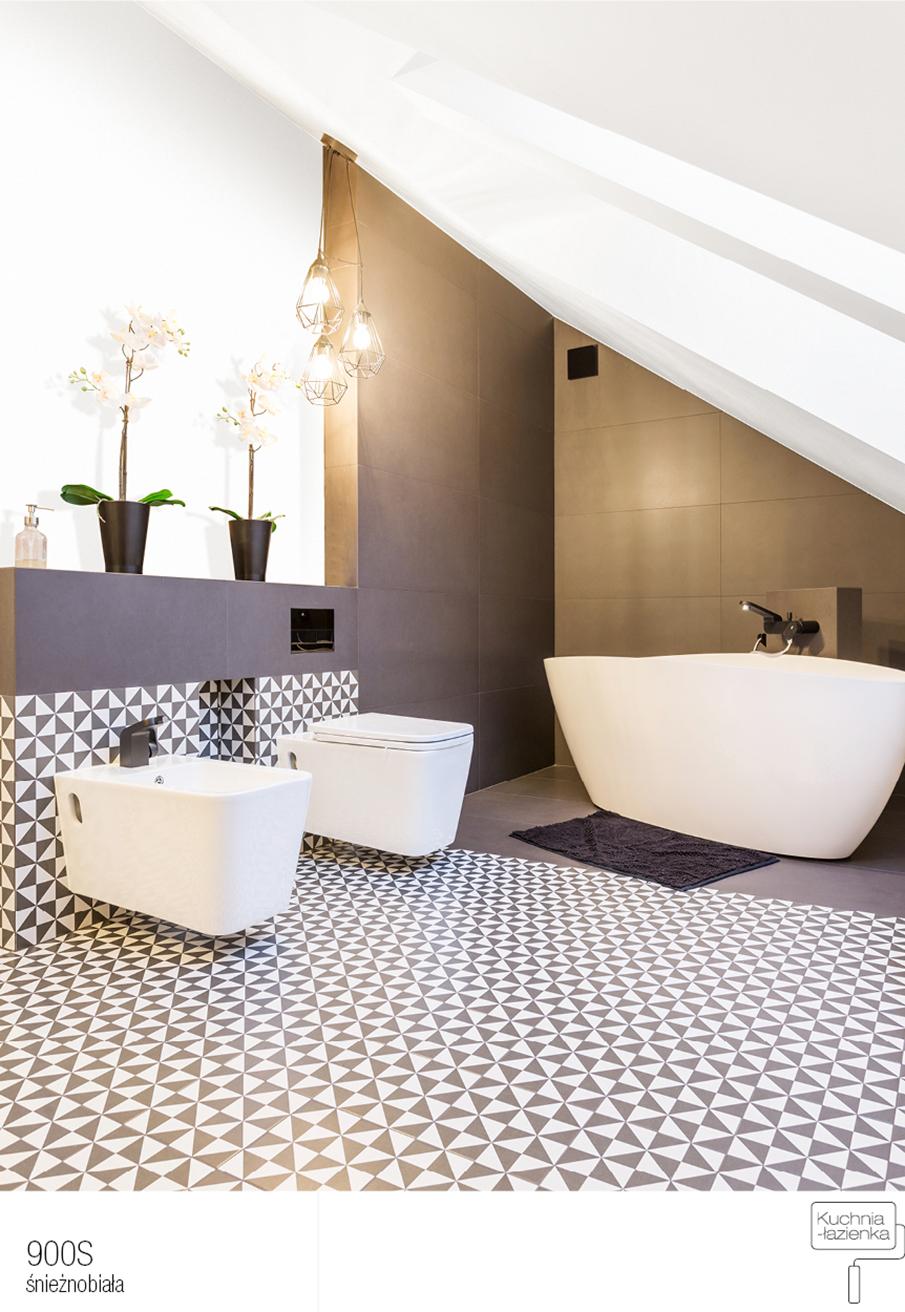 łazienka W Kolorze Białym I Czarnym 3 Nowoczesne Aranżacje Farby