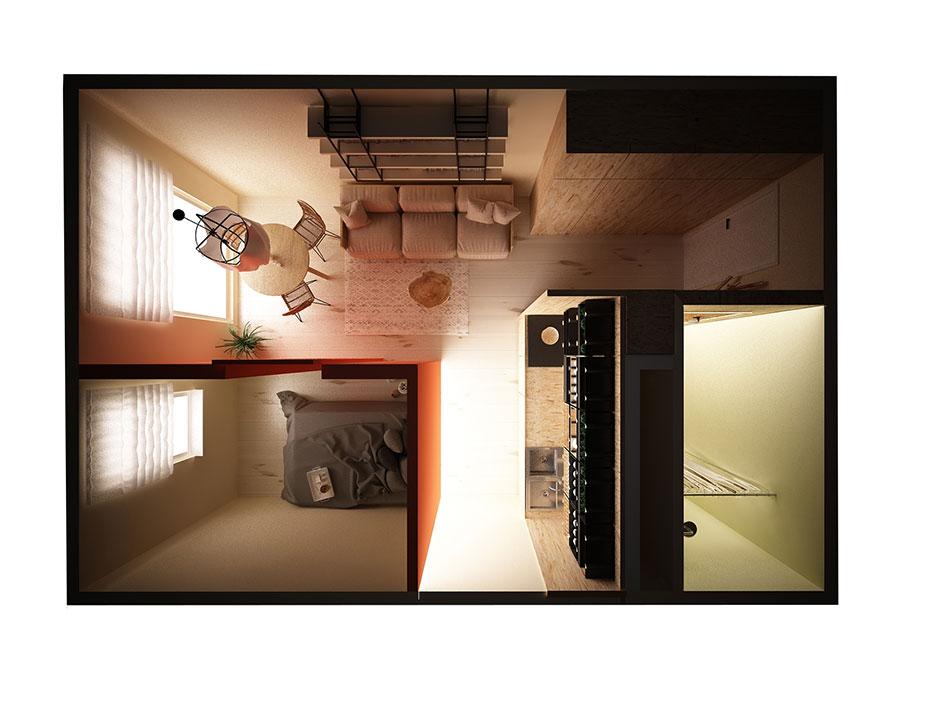 Mieszkanie wstylu ekologicznym