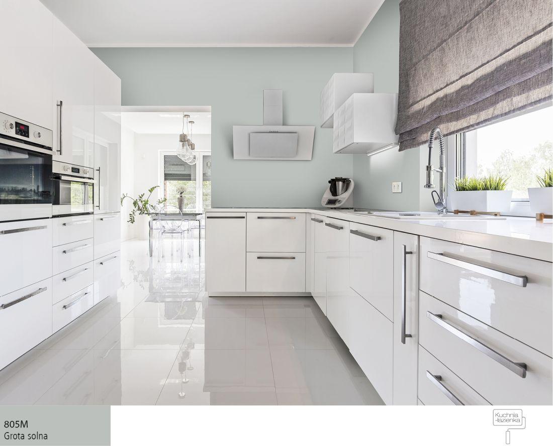 Kolory scian w kuchni