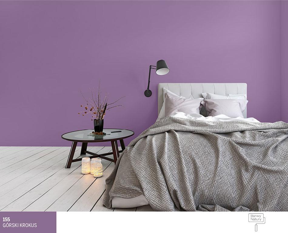 Fioletowe I Szare ściany W Pokoju 3 Najlepsze Aranżacje