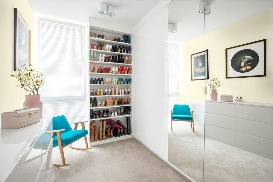 Garderoba W Kolorze Pomysły Na Kolorystykę ścian Farby