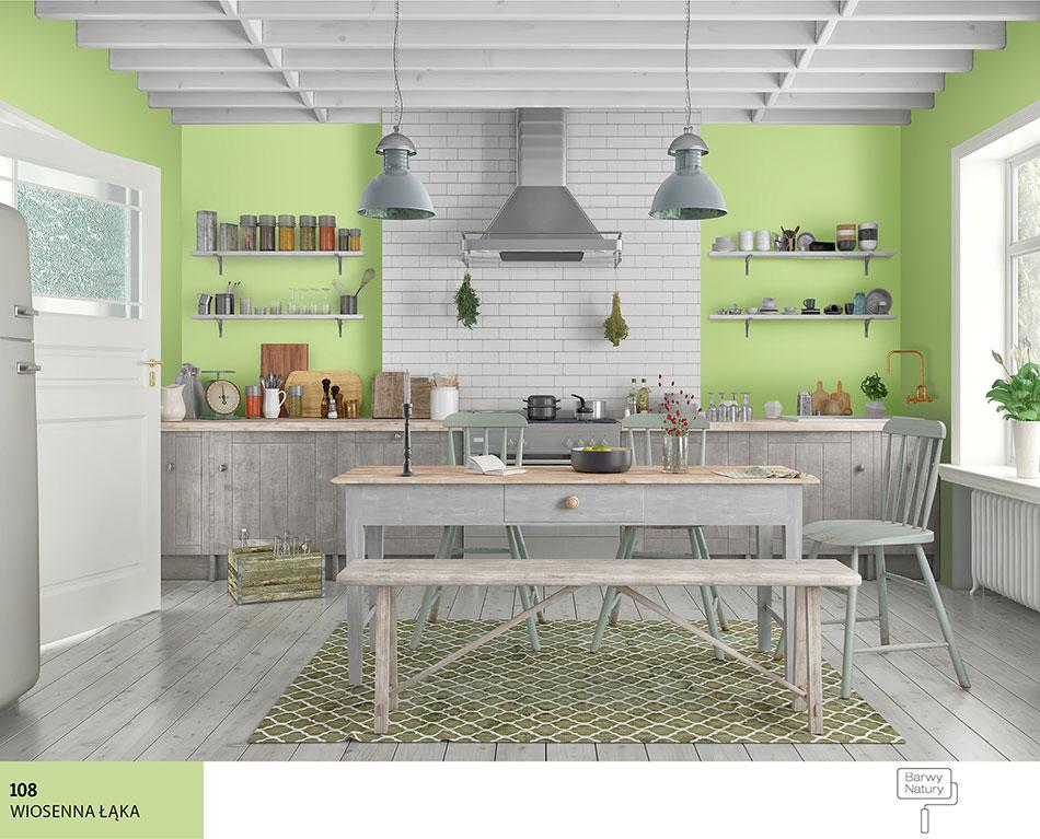 ściany Kuchni W Kolorze Zielonym Najlepsze Inspiracje