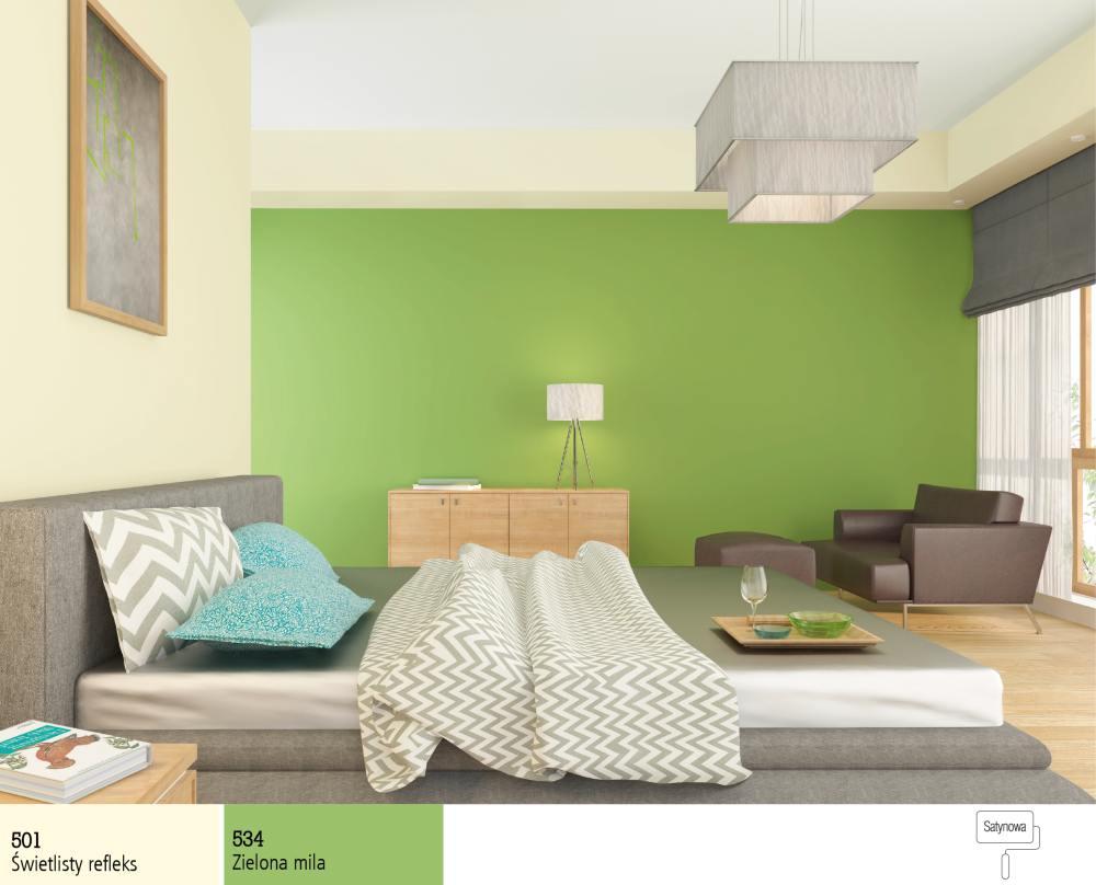 4 Kolory Które Dadzą Ci Relaks Sypialnia Farby śnieżka