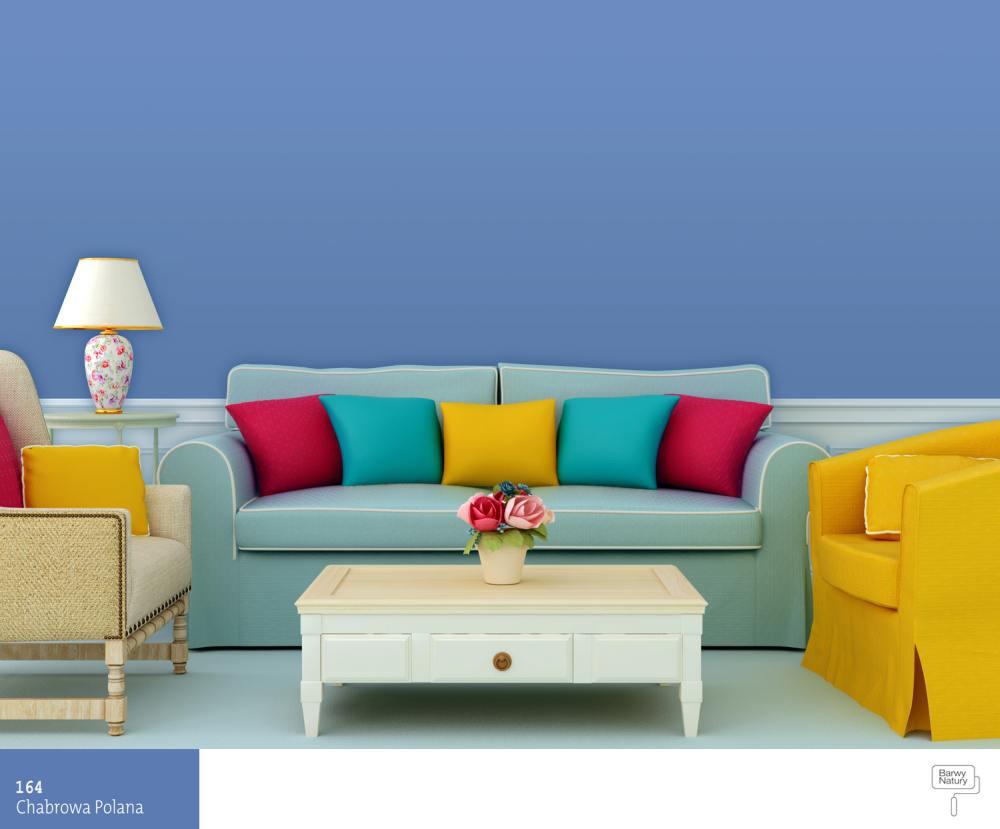 aran acje salonu kolor niebieski farby nie ka. Black Bedroom Furniture Sets. Home Design Ideas
