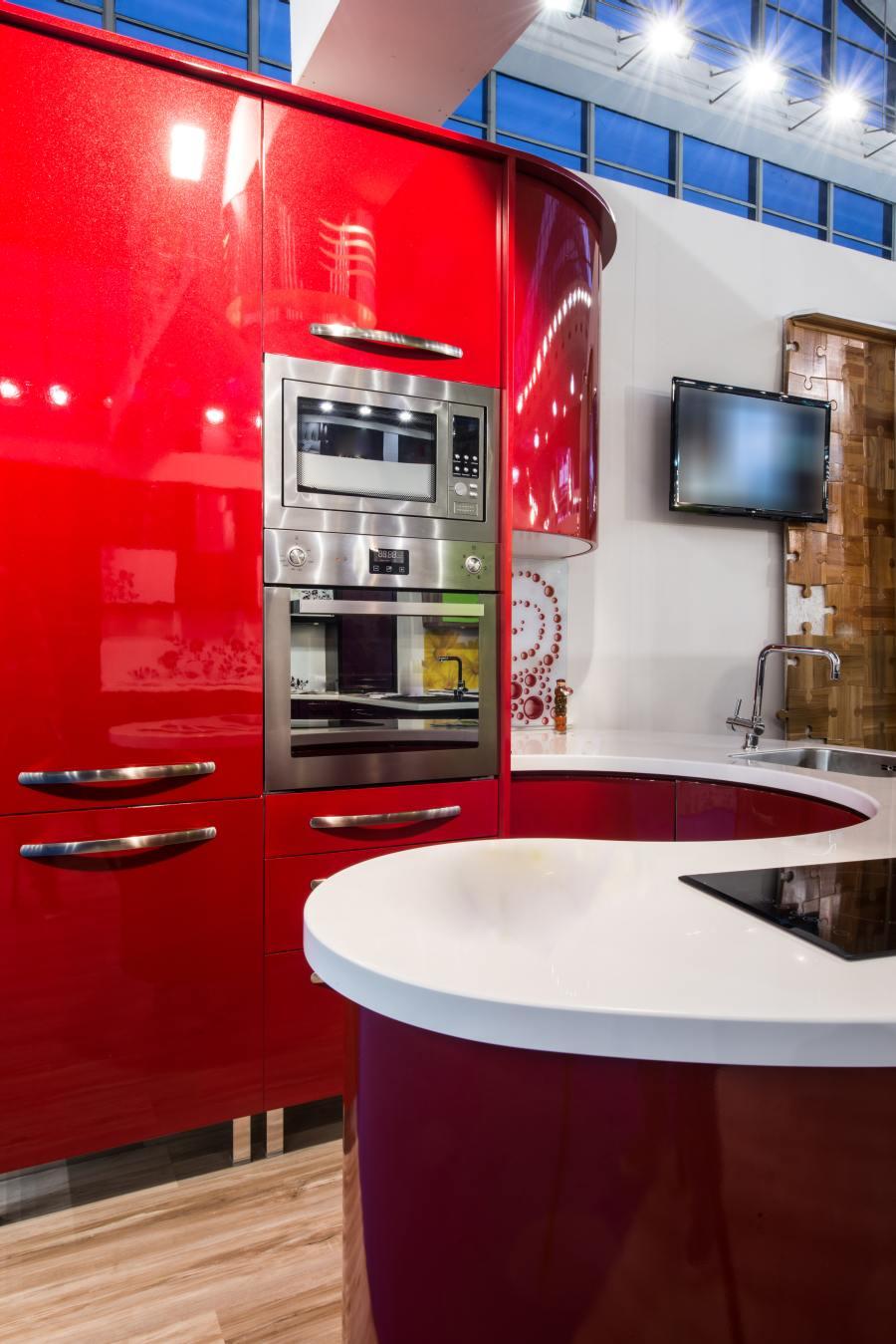 Czerwona Kuchnia Jak Dobrać Kolor Farby Do ścian Farby
