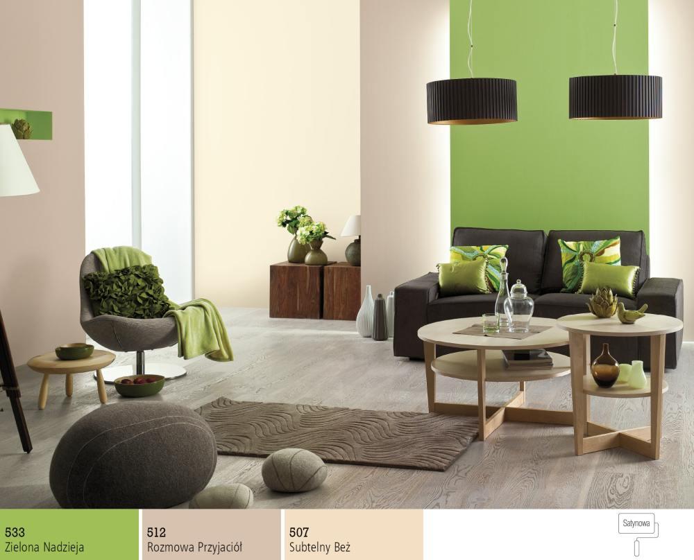 Dobór kolorów farb do ciemnych mebli  Farby Śnieżka -> Kuchnia Brązowe Meble Jaki Kolor Ścian