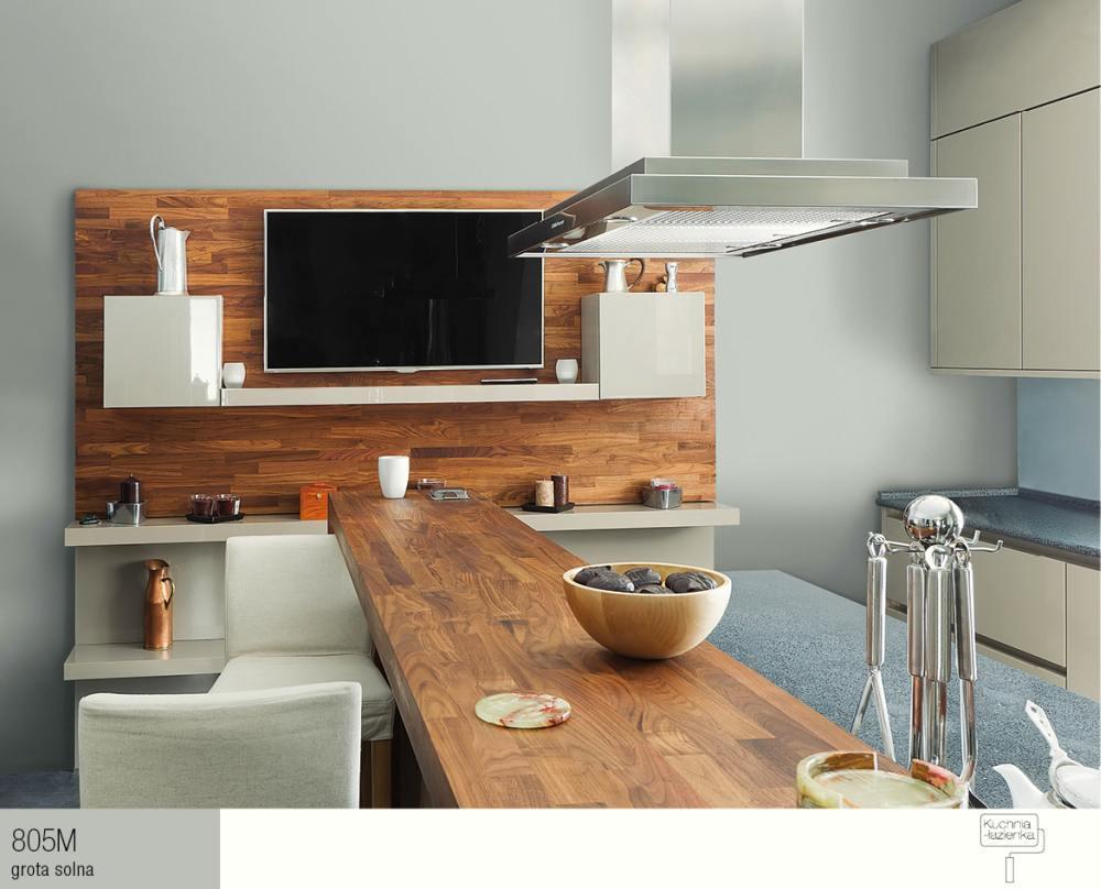 Pomysl Na Aranzacje Salon Z Kuchnia Top Inspiracje 2014 Farby