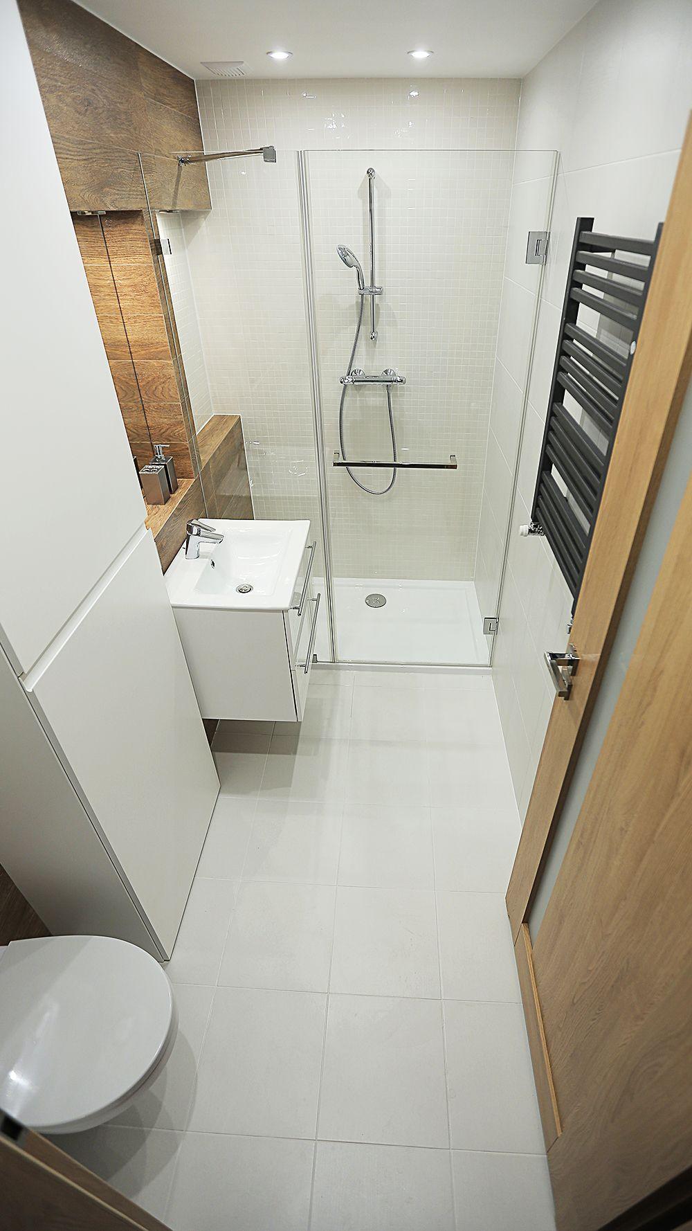 mała pojemna łazienka
