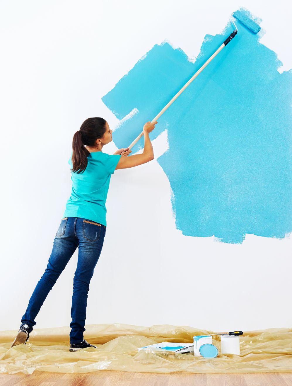 Malowanie Farbą Satynową Na Co Zwrócić Uwagę Farby śnieżka