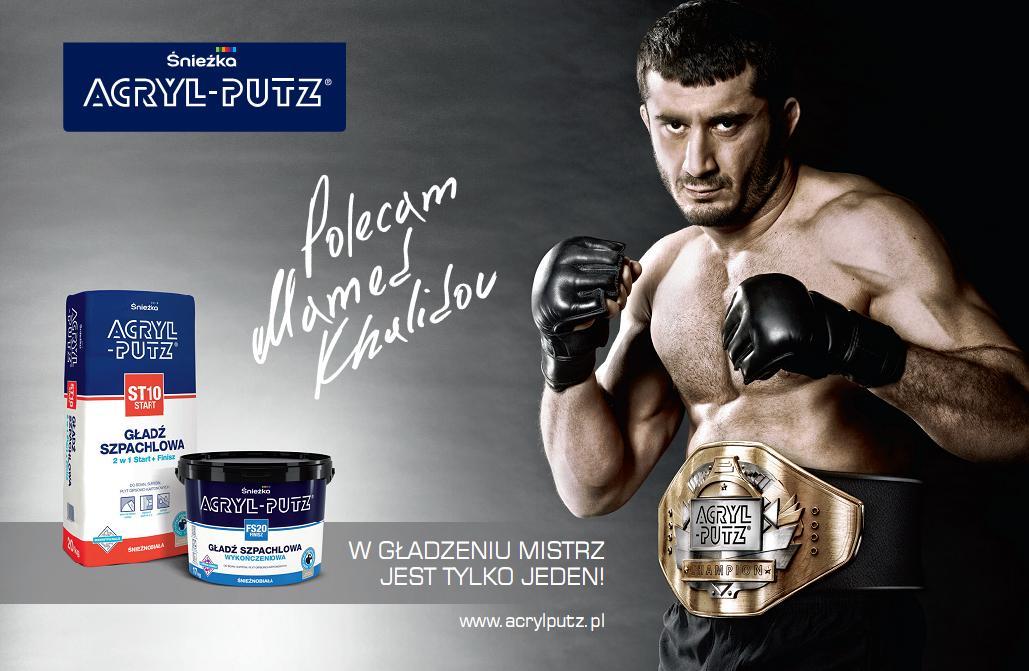 Acryl Putz -Mamed Khalidov